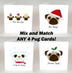 dogs, animals, christmas cards, handmade